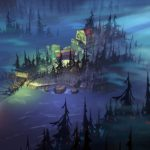 Wyspa z gry The Flame in the Flood