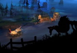 Wilk i tratwa z gry The Flame in the Flood