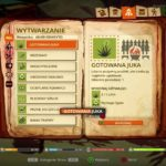 Książka craftingu w grze The Flame in the Flood