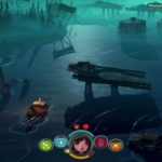 Tratwa na wodzie z gry The Flame in the Flood